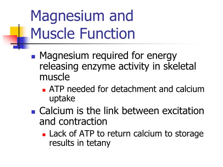 Magnesium and