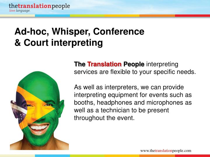 Ad-hoc, Whisper, Conference