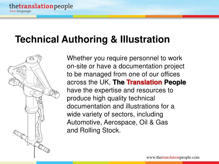 Technical Authoring & Illustration