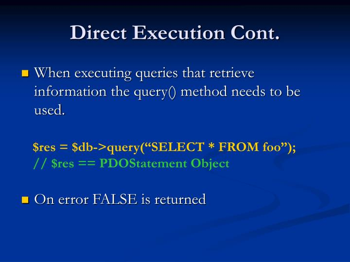 Direct Execution Cont.