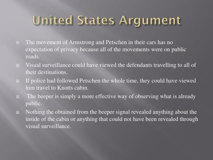 United States Argument