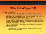 still at risk chapter 344