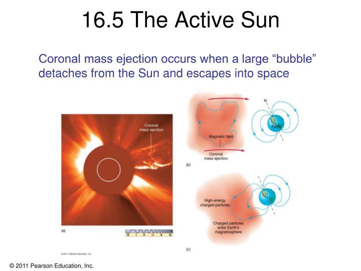 16.5 The Active Sun