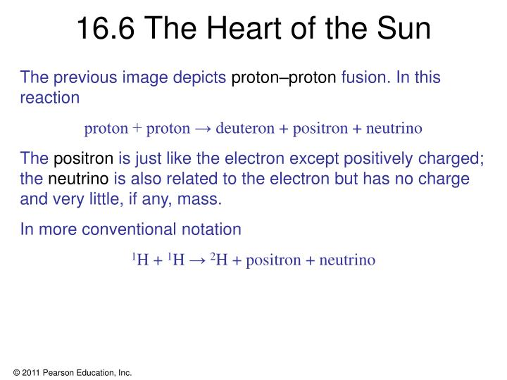 16.6 The Heart of the Sun