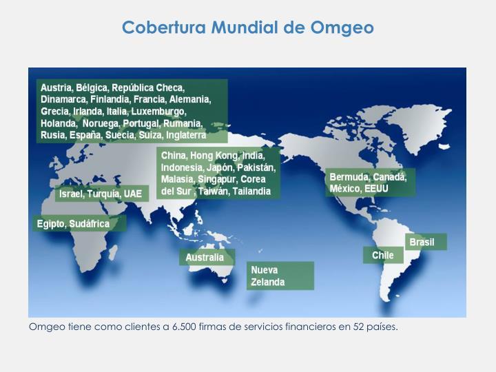 Cobertura Mundial de Omgeo
