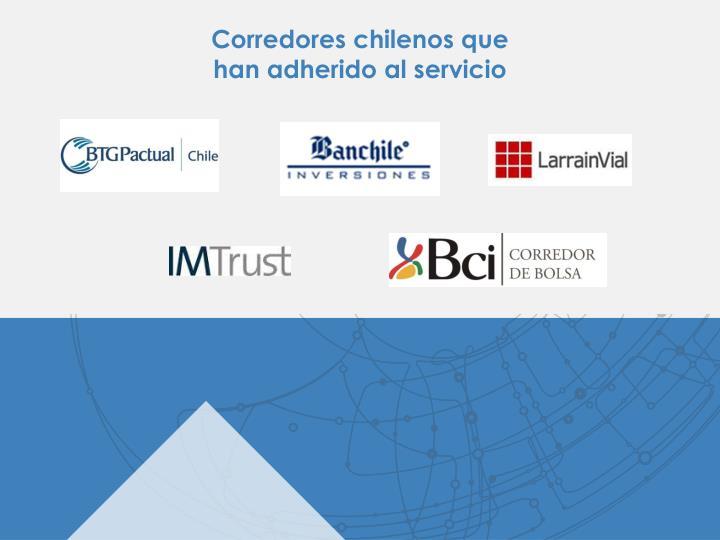 Corredores chilenos que