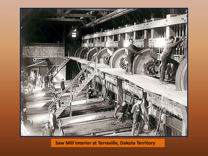 Saw Mill Interior at