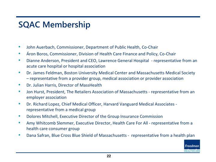 SQAC Membership