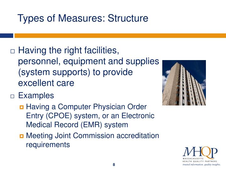 Types of Measures: Structure