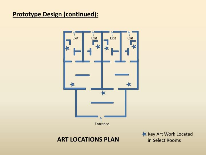 Prototype Design (continued):