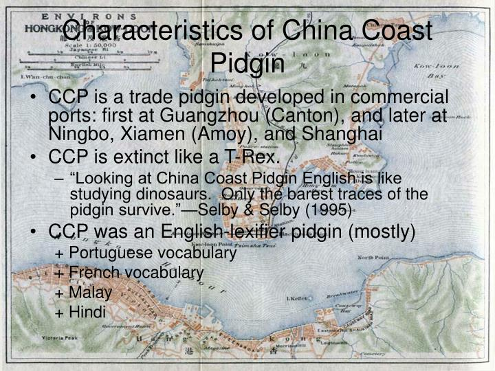 Characteristics of china coast pidgin