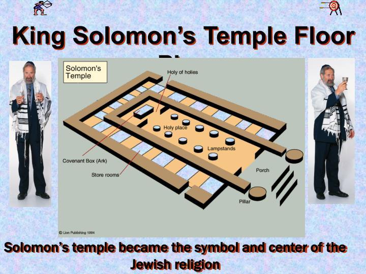 King Solomon's Temple Floor Plan