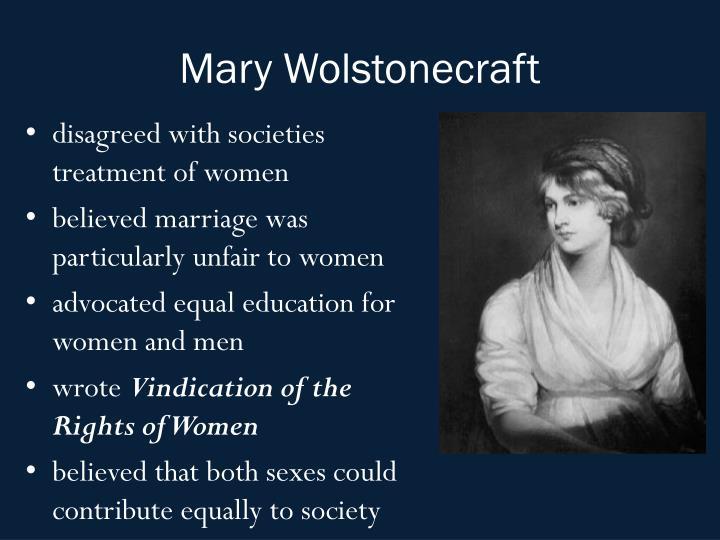 Mary Wolstonecraft