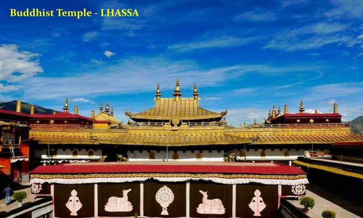 Buddhist Temple - LHASSA