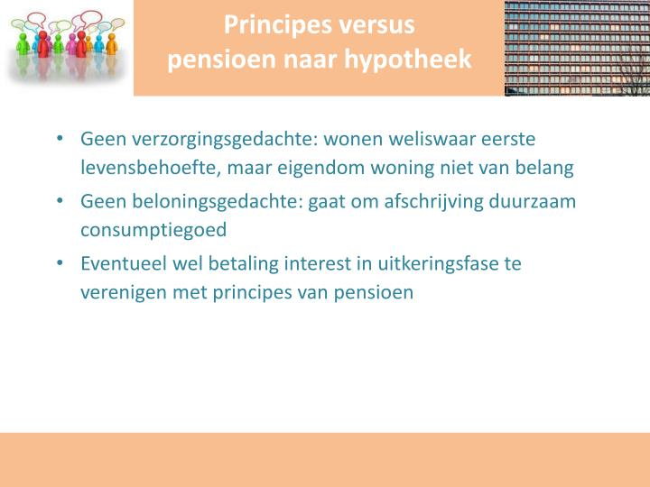 Principes versus