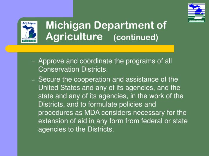 Michigan Department of