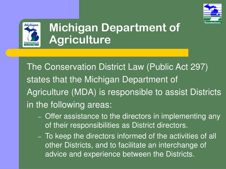 Michigan Department of Agriculture