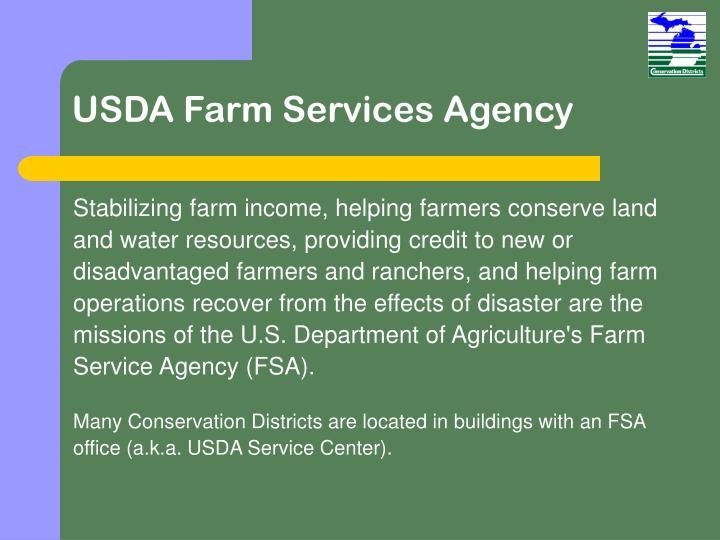 USDA Farm Services Agency