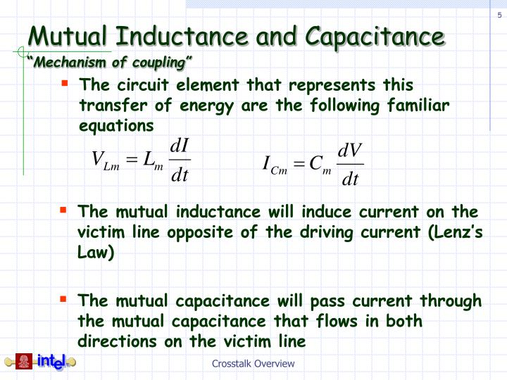 Mutual Inductance and Capacitance