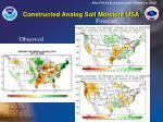 constructed analog soil moisture usa