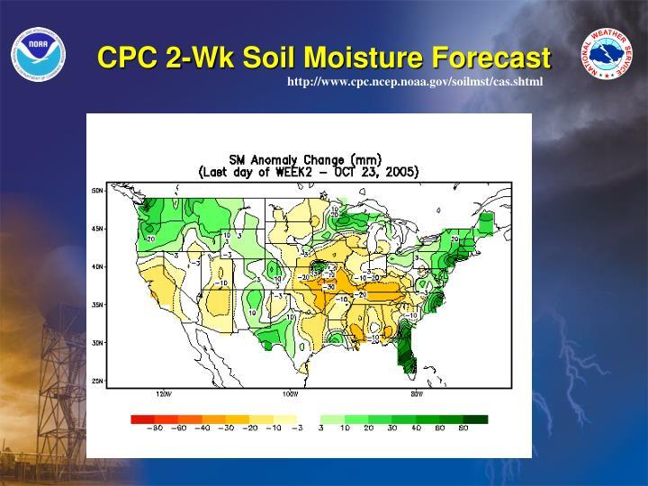 CPC 2-Wk Soil Moisture Forecast