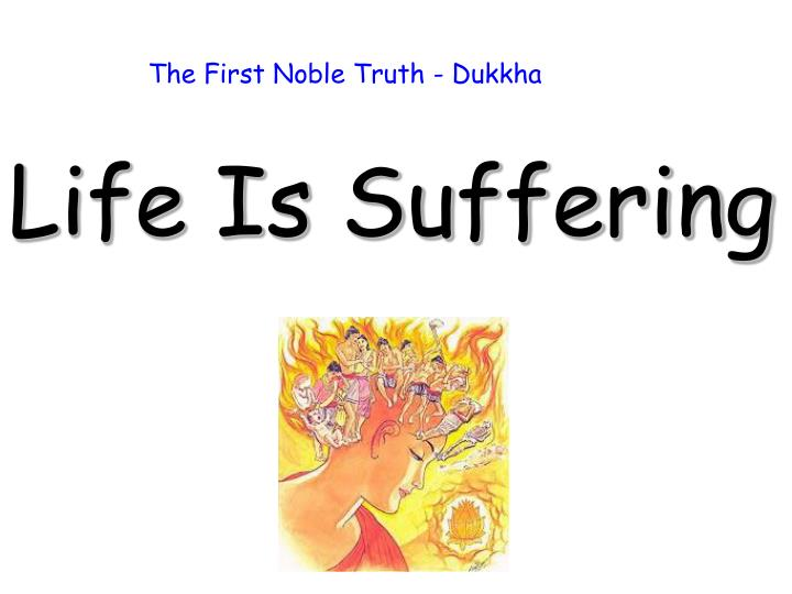 The First Noble Truth - Dukkha