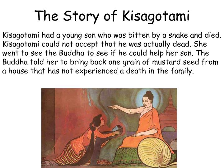 The Story of Kisagotami