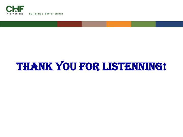 THANK YOU FOR LISTENNING!