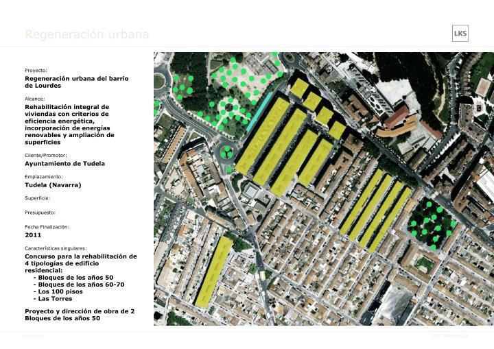 Regeneración urbana