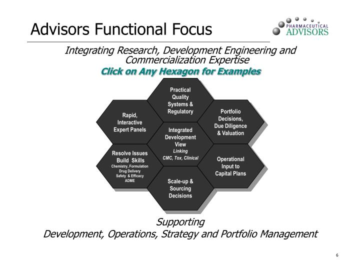 Advisors Functional Focus