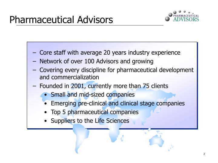 Pharmaceutical Advisors