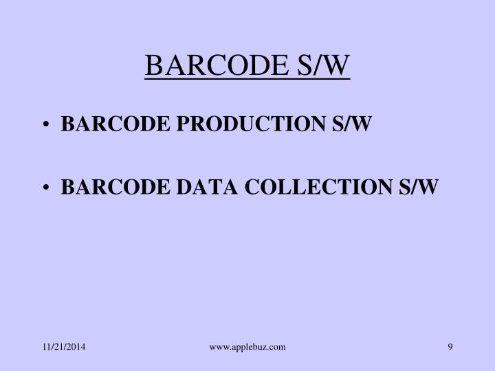BARCODE S/W