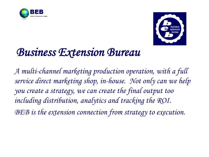 Business Extension Bureau