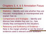 chapters 3 4 5 annotation focus2