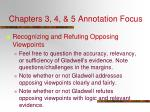 chapters 3 4 5 annotation focus4
