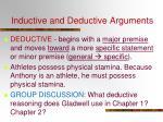 inductive and deductive arguments1