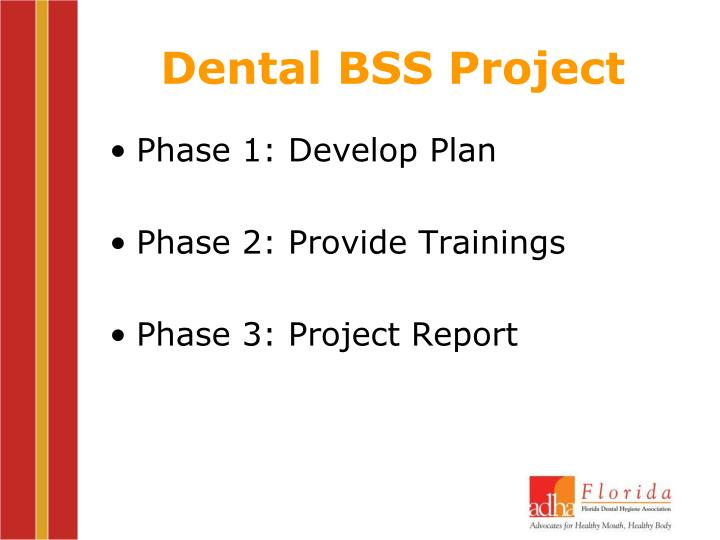 Dental BSS Project