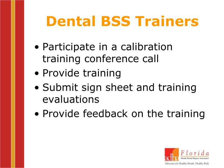 Dental BSS Trainers