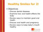 healthy smiles for 2