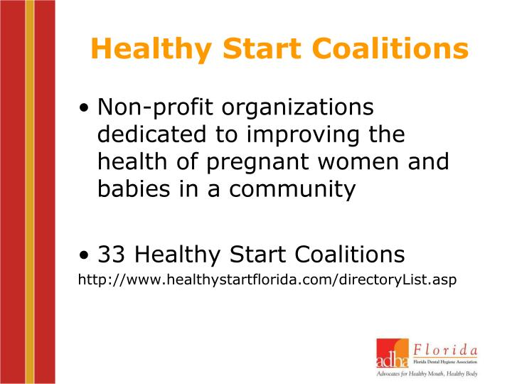 Healthy Start Coalitions