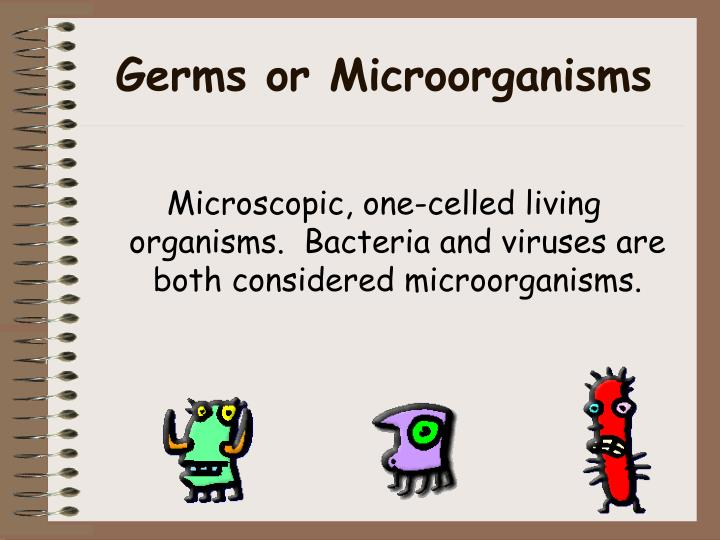 Germs or Microorganisms