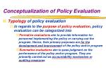 conceptualization of policy evaluation3