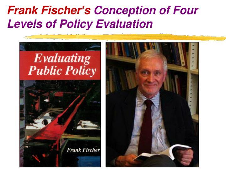 Frank Fischer's