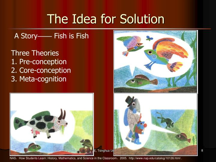The Idea for Solution