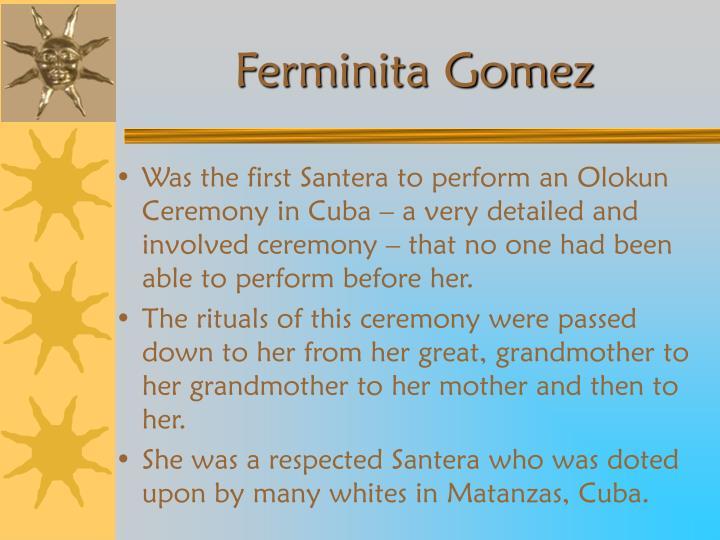 Ferminita Gomez