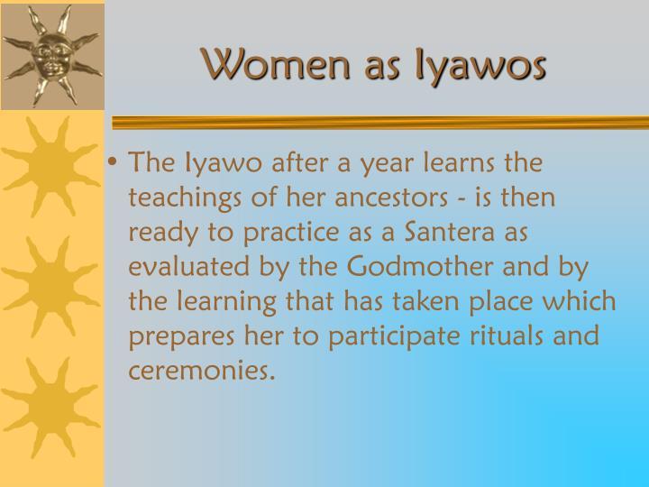 Women as Iyawos