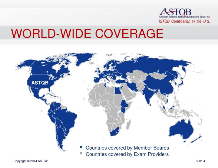 WORLD-WIDE COVERAGE