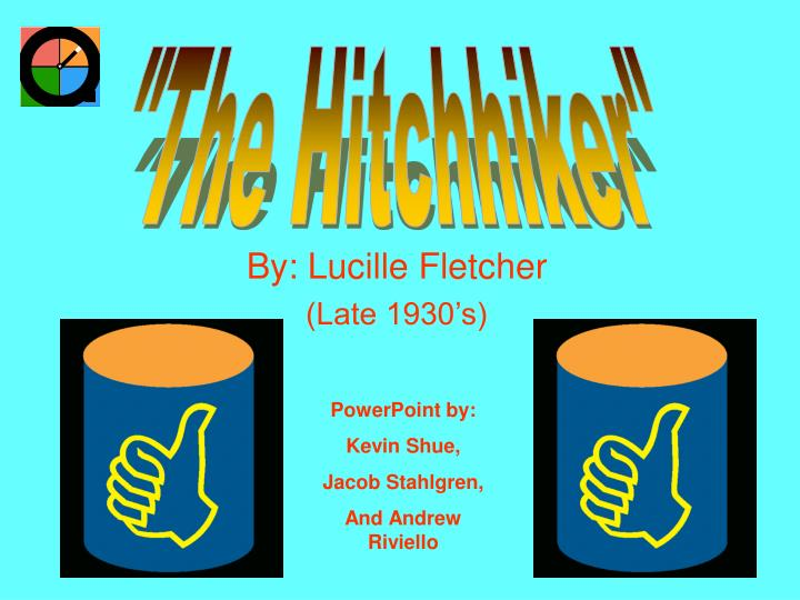 Ppt by lucille fletcher late 1930 s powerpoint presentation