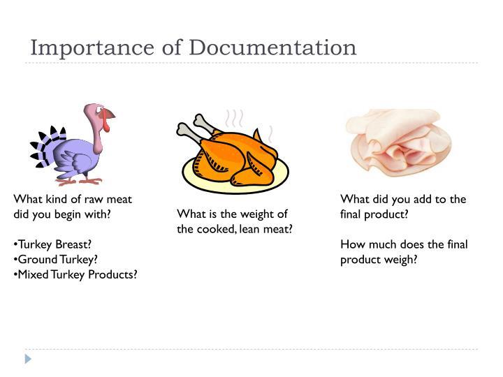 Importance of Documentation