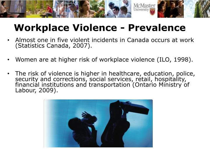 Workplace Violence - Prevalence